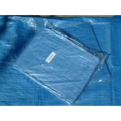 Ponyva, takaróponyva, 5x8 m, kék, nem UV-álló