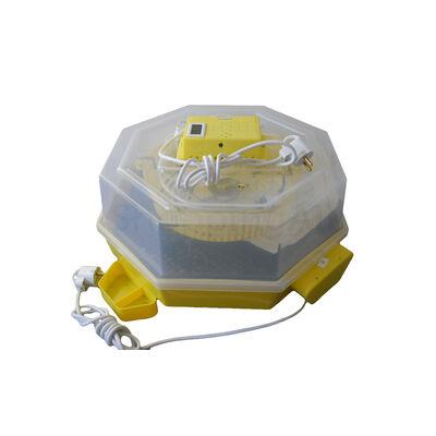 Keltetőgép hőmérséklet - és párakijelzővel, automatikus forgatással,  C5-FHP-A
