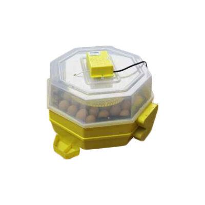 Keltetőgép (emeletes) hőmérséklet- és párakijelzővel, automata forgatóművel, C5-2x5-FHP-A